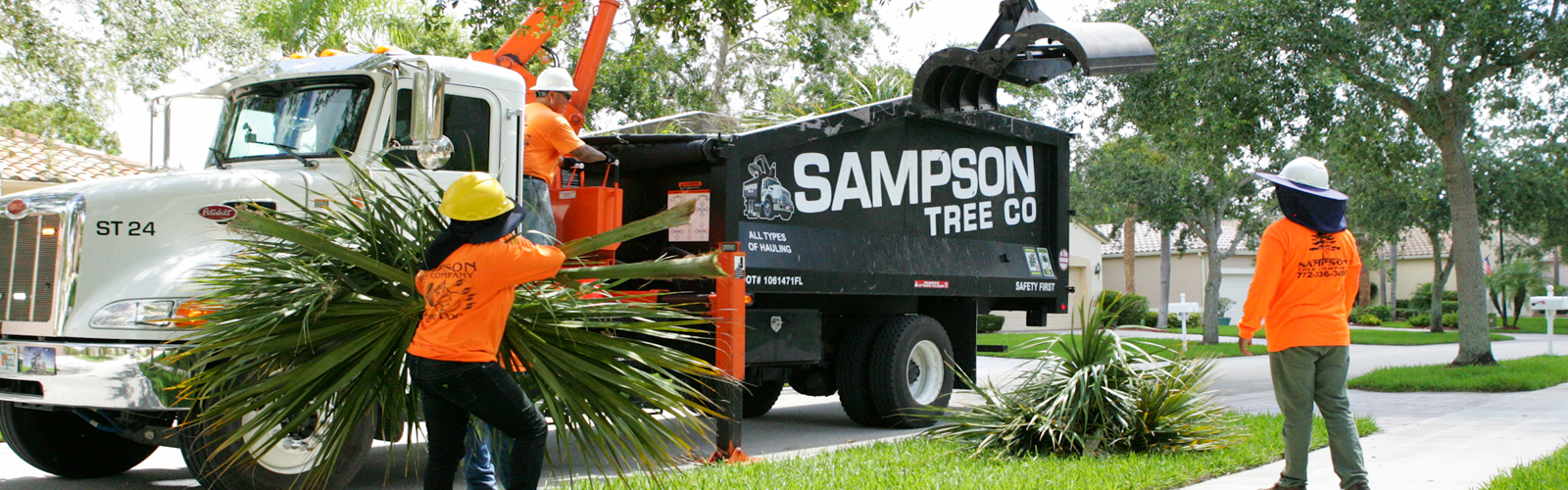 Sampson Tree Service Truck