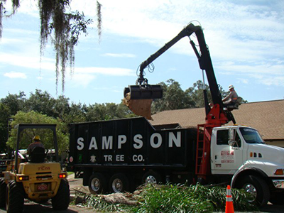 sampson debris removal